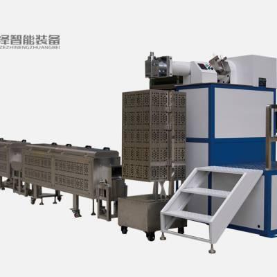 供应臣泽立式单色硅胶挤出生产线 立式挤出机