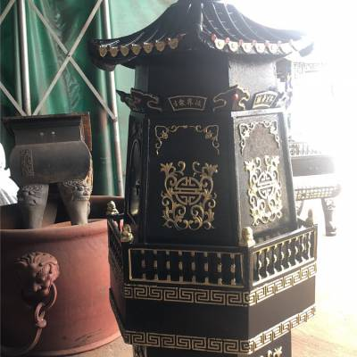 厂家直销寺庙六角金钱塔化宝炉焚经炉一层二层三层五层道教祠堂佛教金炉