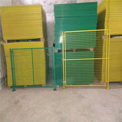 优质车间隔离网 生产设备防护网 工厂车间浸塑围栏网