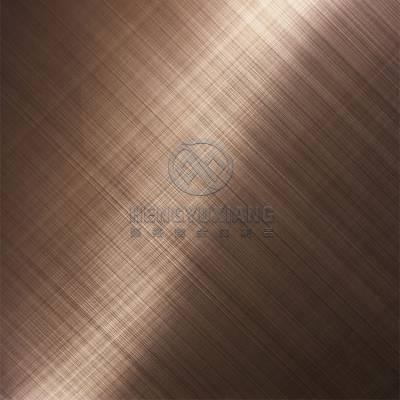 拉丝不锈钢板材批发 恒裕翔 304不锈钢板材工程 祡红不锈钢板材
