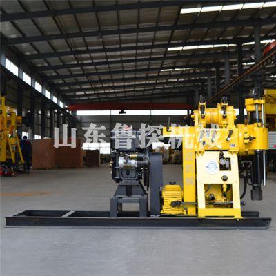 供应鲁探200米工程钻井设备 HZ-200Y 液压水井钻机 高效率地温空调钻机