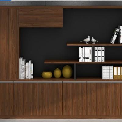 文件柜 木质老板桌配套组合办公室办公家具 档案资料柜子 经理室书柜
