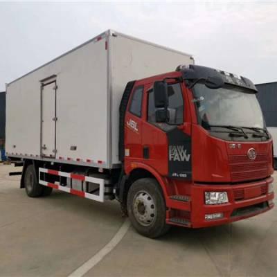 江淮7米箱体冷藏车 长途保鲜运送7米货箱冷藏车多少钱