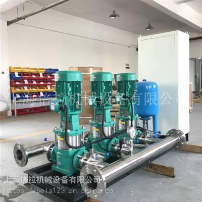 进口威乐水泵MVI202 ABB给水变频泵组
