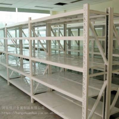 郑州恒川货架厂仓储货架地下室阳台仓库储物高低可调货架