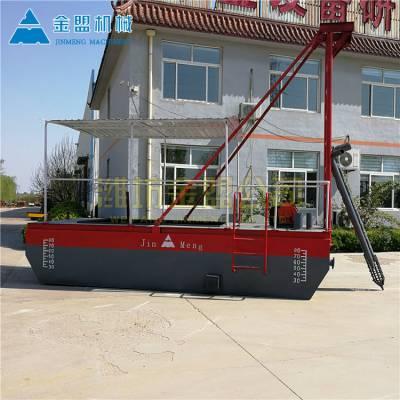 国内出口抽沙船的公司 订做河道抽沙船
