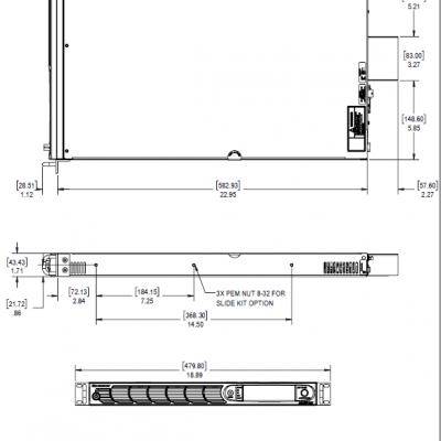 AMETEK/阿美特克美国ASTDC触摸屏1U高直流电源