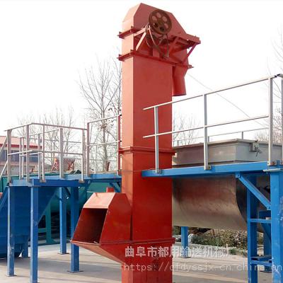 通化市6米高垂直板链钢斗提升机_多功能粮食斗式提升机生产厂家