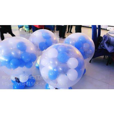 南宁专业地爆球制作,承接南宁周边市县爆破气球-新百和气球