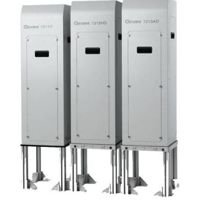 Chroma/致茂台湾7213-AD光伏电池片背面印刷暨表面脏污检测机