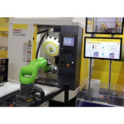 车床机械手的价格多少钱?CNC机床上下料机器人包括哪些零部件和周边辅助设备