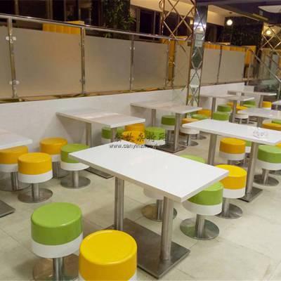 乐山餐厅家具定做,快餐店桌子凳子配套直销批发