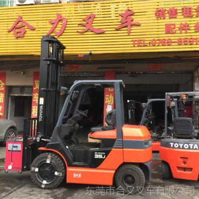 专业丰田电动叉车租赁 进口3.5吨叉车物流专用电动叉车销售租赁