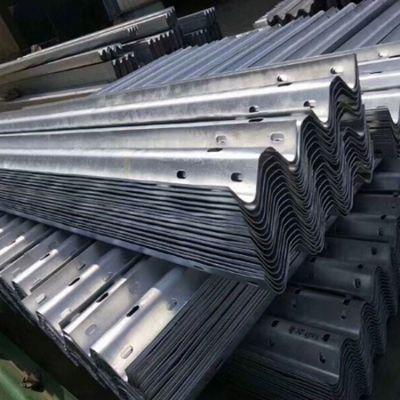 两波镀锌高速护栏板批发 力海 三波镀锌高速护栏板