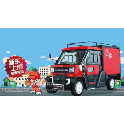宝岛新能源电动汽车 成人电动货运物流车