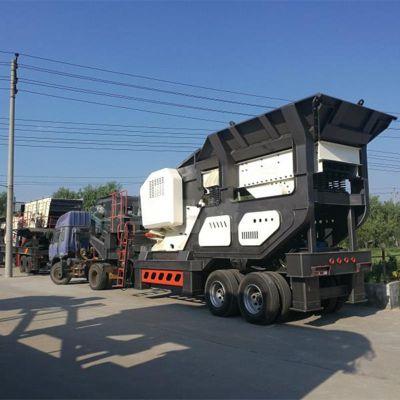 厂家直销建筑垃圾破碎机 可移动式建筑垃圾碎石机 河卵石制砂机