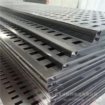 瓷砖展厅货架装饰 冲孔板展具 展架钩槽生产厂家【至尚】
