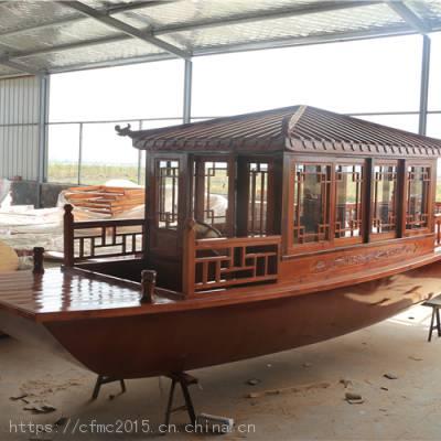 精细雕花红船模型 红船模型出售 厦门红船模型