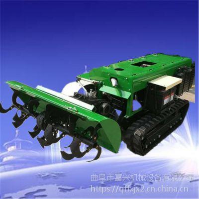 柴油履带旋耕机富兴-小型果园开沟除草机-毕节果园施肥机