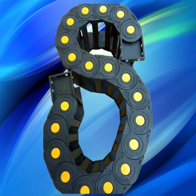 广纳2538数控机器人万向S型工程塑料拖链护线套