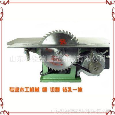 小型刨床台刨压刨机木工多功能电刨平刨机台式木工刨家用电动工具