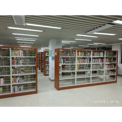 重庆阅览室书架厂家 钢制图书架厂家直销