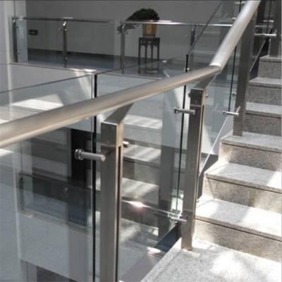 泰州耀荣 平台式不锈钢栏杆立杆无水泥基础架梁梯厂家价格