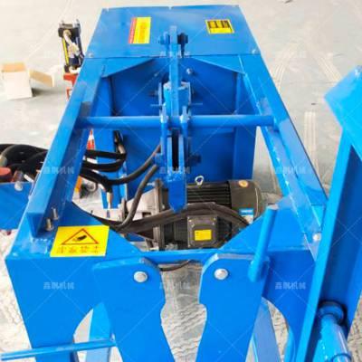 河南液压斩铜机厂家 电风扇马达定子拆铜机 废旧电机线圈回收设备