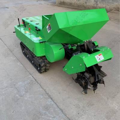 大棚耕地机价格 35马力自走式履带开沟机