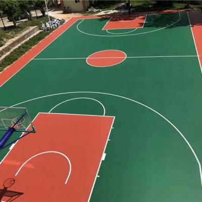 做篮球场地附近公司-萍乡市安源区篮球场地-辉跃体育