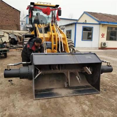 洗沙用搅拌斗铲车 全自动搅拌装载机 后期维护好