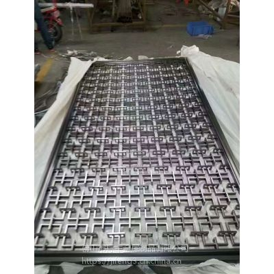 上海钛金不锈钢花格批量供应