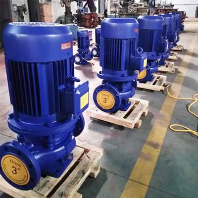 3CF认证 ISG80-350B 37KW 上海江洋 管道循环泵 立式管道泵 单级管道泵