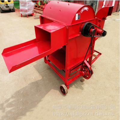 厂家直销 新型农用电动脱粒机 谷子高粱去皮打粮机