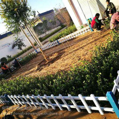 街道花池栅栏 绿化带草坪护栏 园林绿化仿木护栏