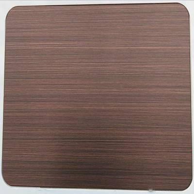 不锈钢镀铜板价格 304不锈钢镀铜价格 江西南昌不锈钢批发
