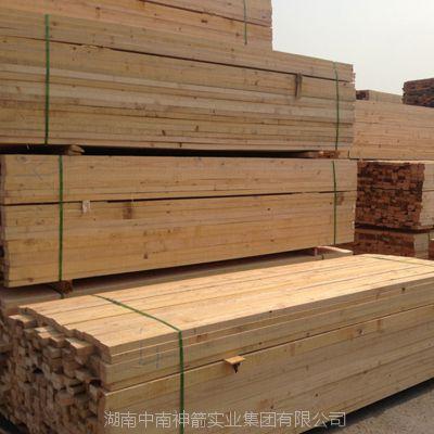 建筑木方 规格齐全可定制 四面见线率95%以上 建筑工程施工用松木方
