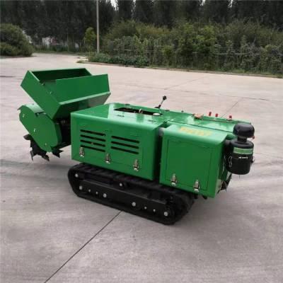 自走式开沟机价格 多功能起垄旋耕机 开沟机自动一体机