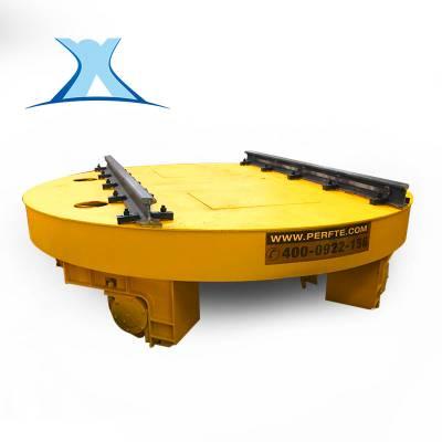 百特智能5t轨道转盘 大直径轨道转盘 换轨电瓶车可定制厂家直销