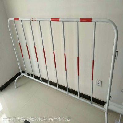 公路施工交通围栏隔离栏杆@临时护栏@临时铁艺护栏批发