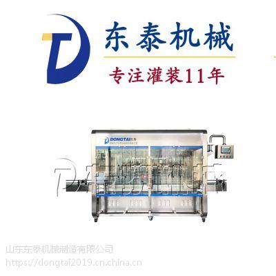 厂家直销 全自动食用油灌装机 油类灌装机 一年保修速度快 东泰机械
