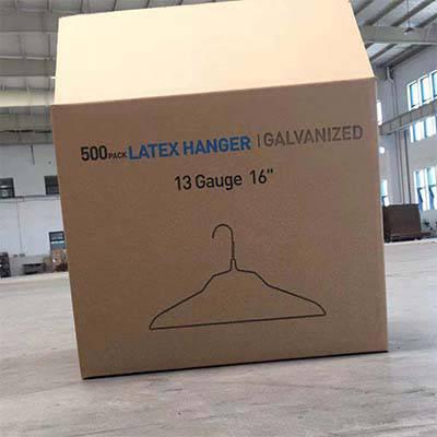 日用百货五层瓦楞纸箱厂衣架纸箱生产厂家