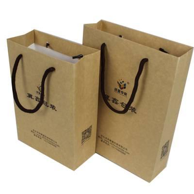 定制外卖手提袋厂家直销免费设计沧州火锅鸡外卖包装牛皮纸手提袋