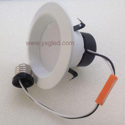 LED嵌入式可调光美规筒灯 E26灯座 4寸8W AC120V 560LM 美国UL 能源之星认证