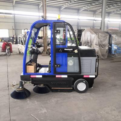扫地车 大电瓶驾驶式扫地机 物业小区清扫专用电动扫地车