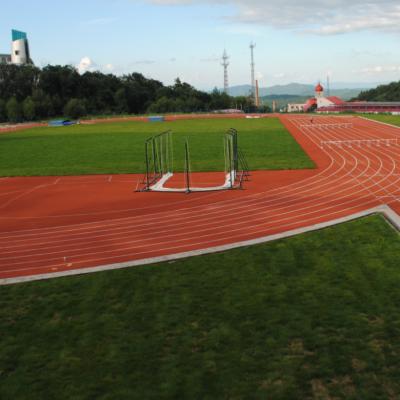 塑胶跑道 人造草皮 专业运动场地坪