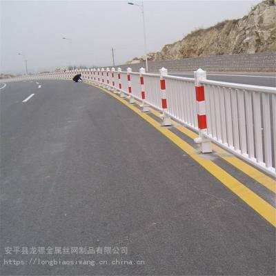 龙骠 优质 反光条市政护栏 塑钢市政护栏 品质保证