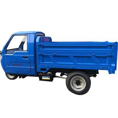 工地柴油三轮车电动小型自卸柴油摩托三轮车农用货运车