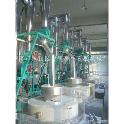 章丘供应油坊香油石磨机 全自动五谷杂粮面粉石磨机石磨