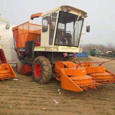 青储机 前置式割台青储机大型青贮饲料机 玉米秸秆粉碎收获机价格
